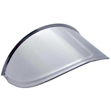 7 Inch Stainless Steel Round Headlight Drop Visor