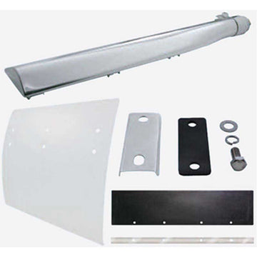 Deluxe Stainless 36 Inch Quarter Fender Bracket Kit
