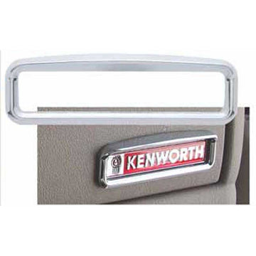 Kenworth Glove Box Emblem Bezel