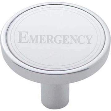 Emergency Long Air Valve Knob with Stainless Plaque
