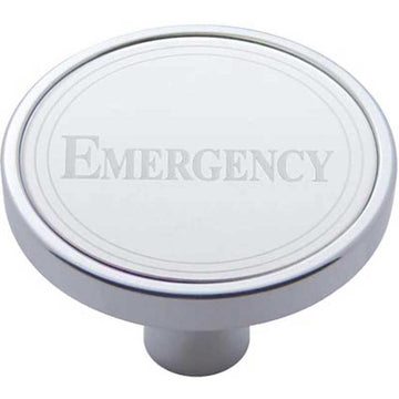 Emergency Short Air Valve Knob with Stainless Plaque