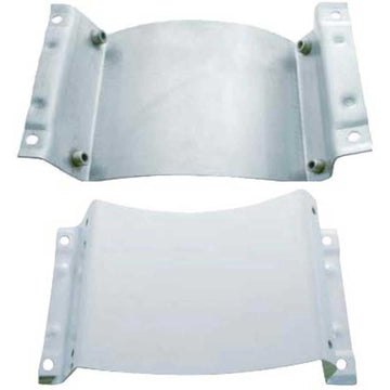 15 Inch Peterbilt Stainless Air Cleaner Mounting Plate