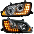 Kenworth T660 Projection Headlight With LED Turn Signal