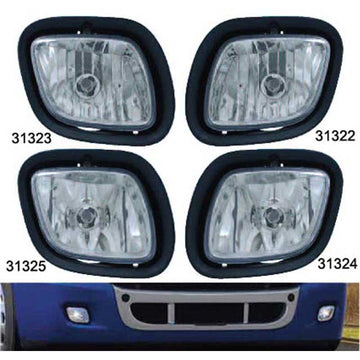 Freightliner Cascadia DRL/Fog Light 2008 and Newer in 4 Options