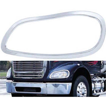 Chrome Freightliner M2 Headlight Bezel