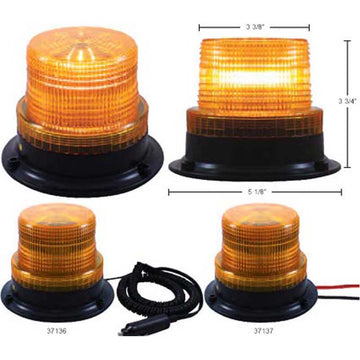 3 High Power LED Mini Beacon Light in Two Mounting Options