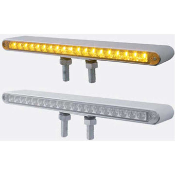 12 Inch 19 LED Reflector Double Face  S/T/T & P/T/C Light Bar
