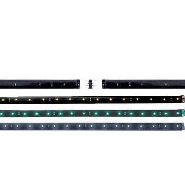 12 LED 12 Inch Connectable Flex Strip Light