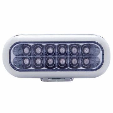 12 LED Oval Auxiliary Light