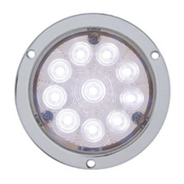 10 LED 4 Inch Deep Dish Auxiliary/Utility Light