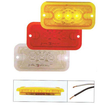 3 LED Clearance/Marker Light