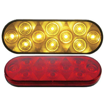 10 LED Oval Turn S/T/T and P/T/C Light