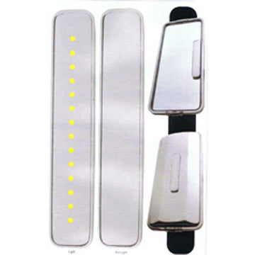 14 LED 6 1/8 Inch Auxiliary Mirror Light