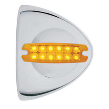 12 LED Reflector Headlight Turn Signal Cover
