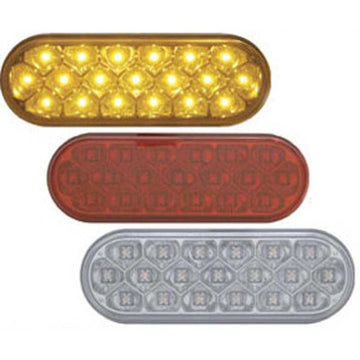 19 LED Reflector Oval Turn Signal
