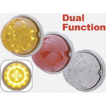 17 LED Dual Function Watermelon Flush Mount Kit