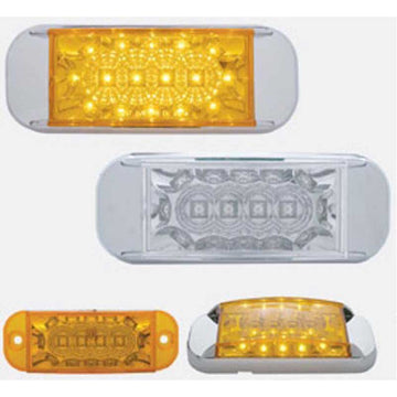 16 LED Reflector Rectangular Marker Light