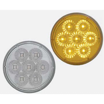 7 LED Reflector 4 Inch Turn Signal