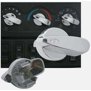 Chrome International A/C Control Knob