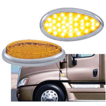 Freightliner Cascadia LED Teardrop Light