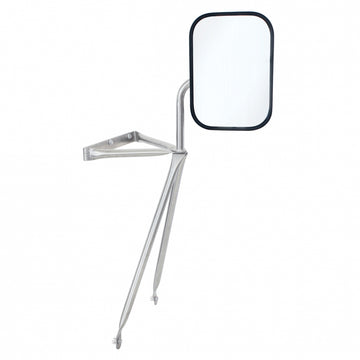 Stainless Swing Away Mirror
