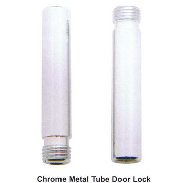 Chrome Metal Tube Door Lock