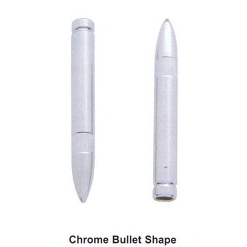 Chrome Bullet Shape Door Lock