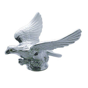 Chrome Eagle with or without Illuminated Eyes Hood Ornament