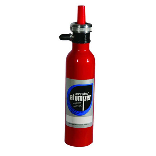 7 Oz Sprayer Red Aluminum for Cleaners and Degreasers