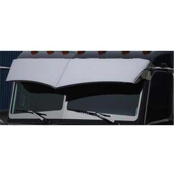 "Peterbilt 359 12"" Wicked Drop Visor in Stainless or Paintable"