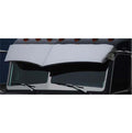 Kenworth 13 Inch 2 Piece Drop Visor for 1999-2004