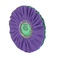 Purple And Green Smooth Cut Wheel