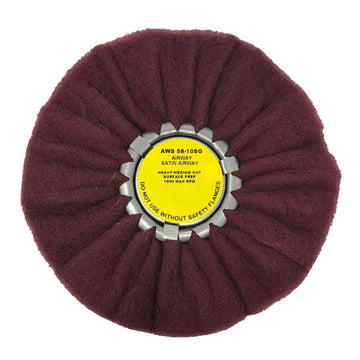 10 Inch Satin Airway Buffing Wheel