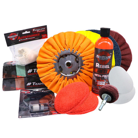 Metal Polishing And Big Rig Restoration Kit