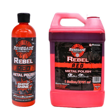 Rebel Red Metal Polish
