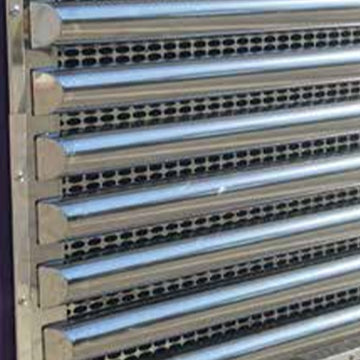 Peterbilt 39 Inch Horizontal Half Moon Grille Bar