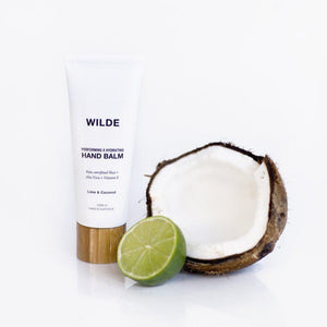 Performing x Hydrating Hand Balm - Lime & Coconut-WILDE SKINCARE