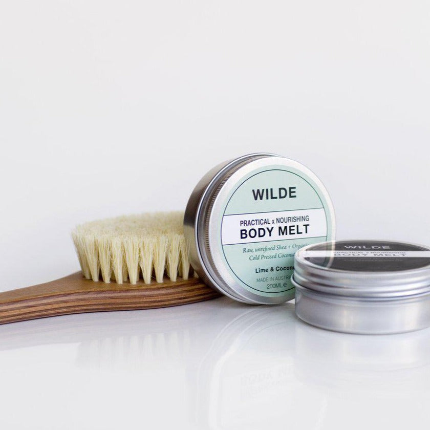 PRACTICAL X NOURISHING BODY MELT - Lime & Coconut-WILDE SKINCARE