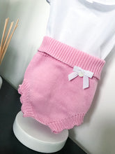 Load image into Gallery viewer, Wedoble Candy Pink Knitted Jam Pants