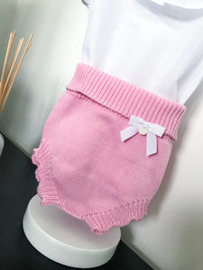 Wedoble Candy Pink Knitted Jam Pants