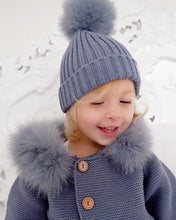 Load image into Gallery viewer, Pangasa Ribbed Hat FAUX FUR (11 colours)