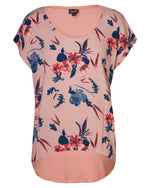 Combo Boxy Top - Burro Floral