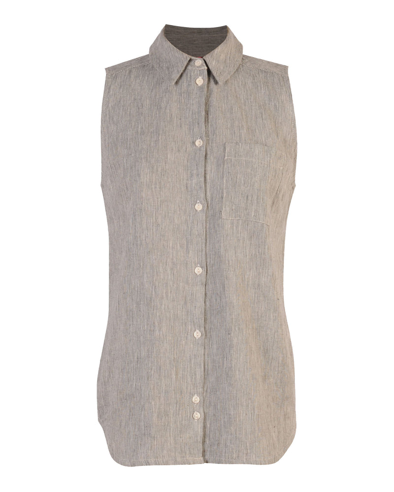 Factory Store | Sleeveless Shirt - End on end