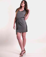 Combo Boxy Tunic - Black Diamond