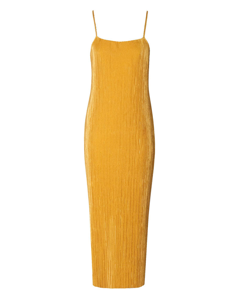 Strappy Shift Dress - Dijon