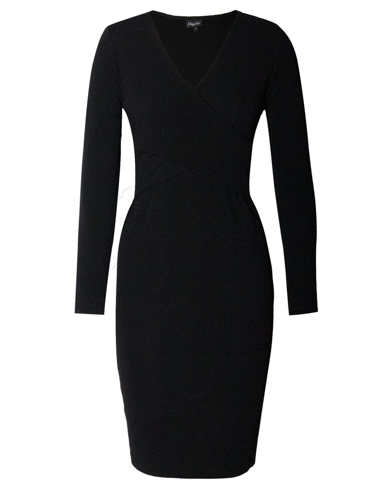Bodycon Hug Dress - Black