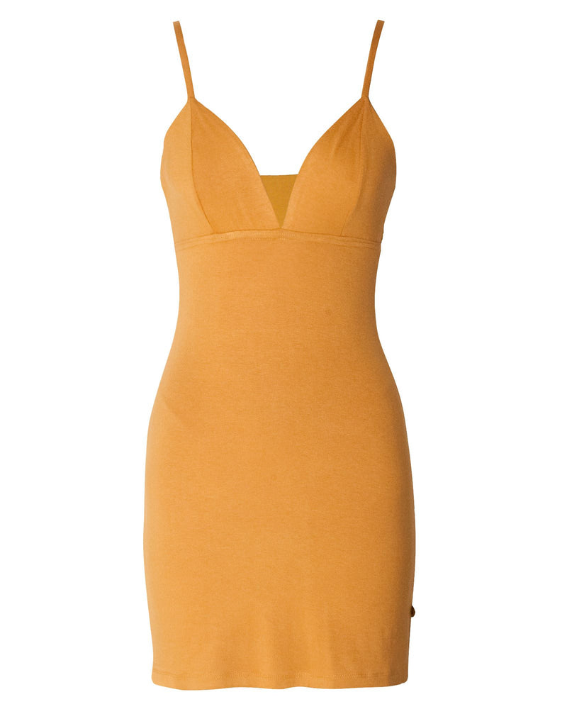 Ani-Bodycon Dress - Dijon