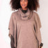 Square Poncho & Snood 2 Piece - Oat