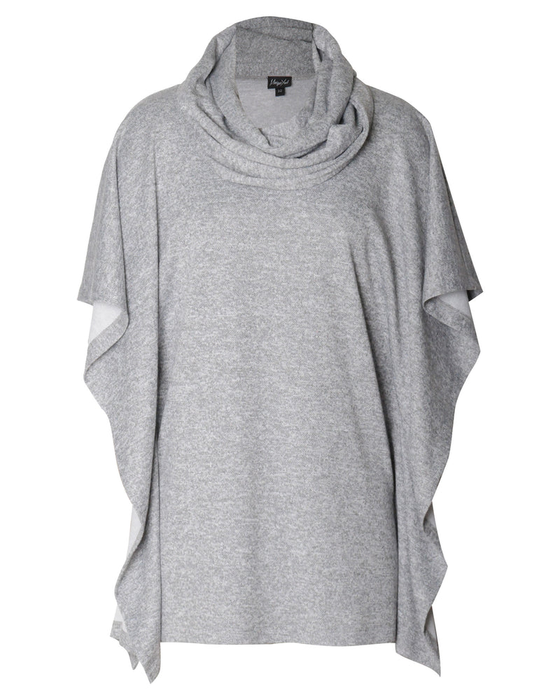 FACTORY STORE - Square Poncho - Grey