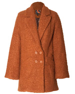 Victoria Coat - Walnut